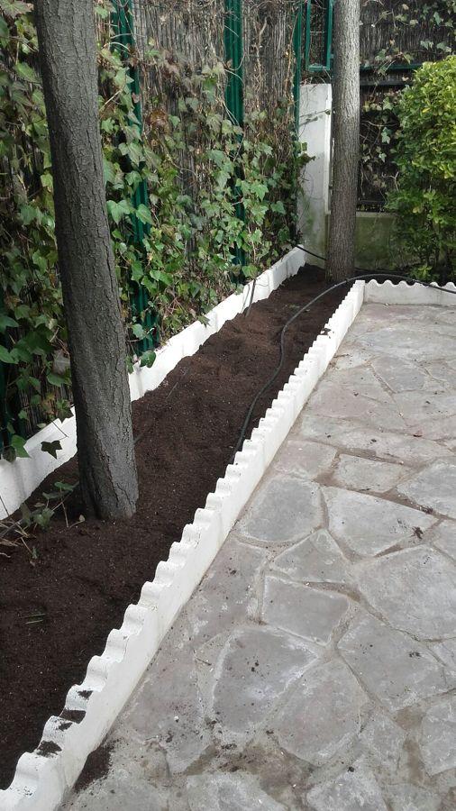 Detalle de jardinera