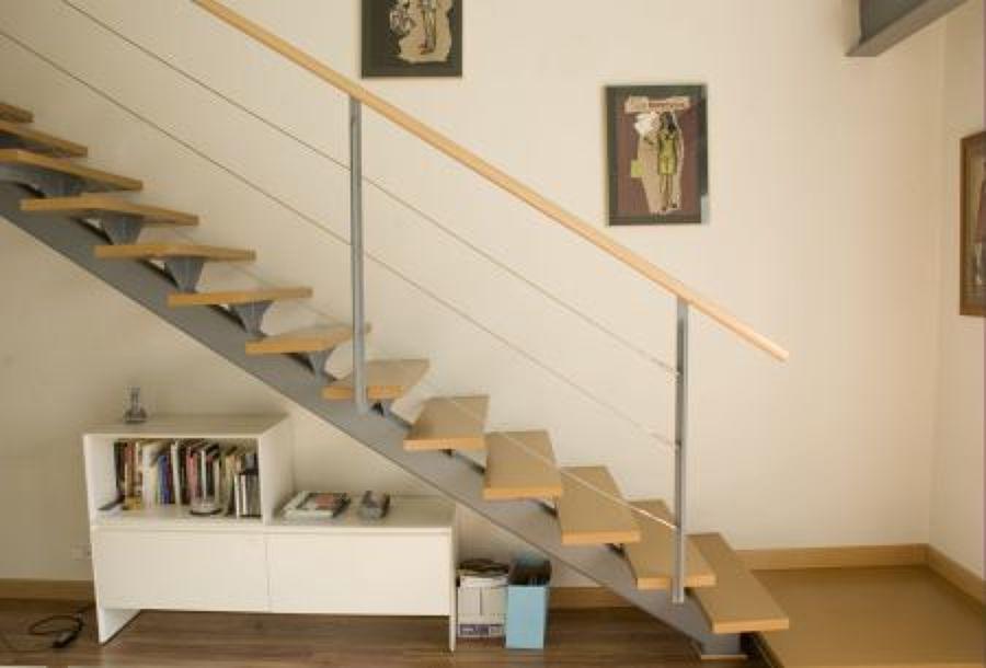 Detalle de la escalera.