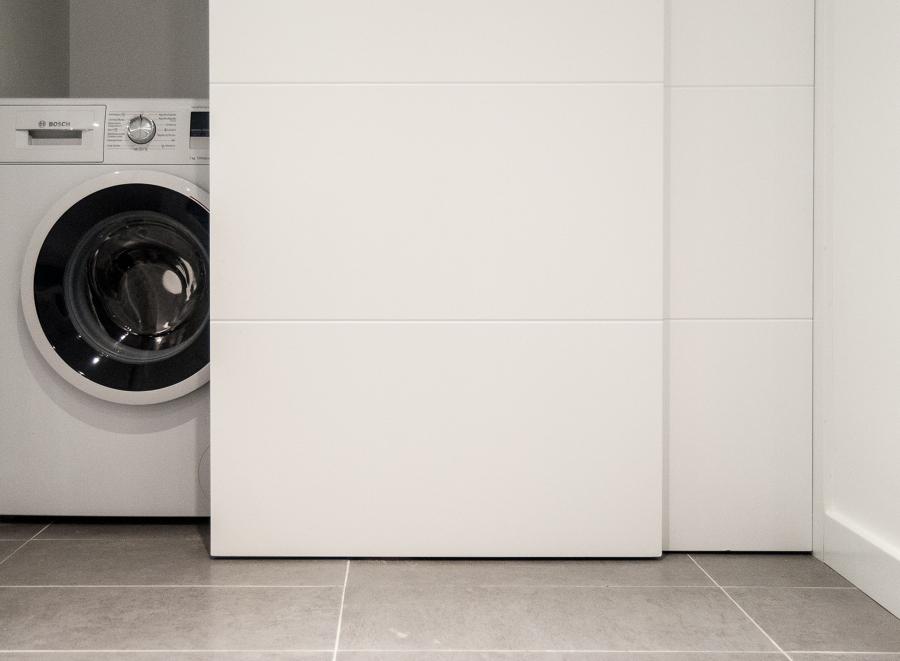 Detalle de la lavadora