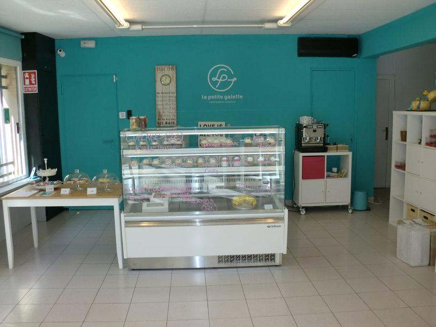 Detalle de la pastelería. Sección tienda