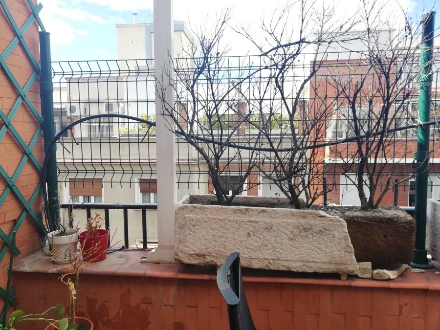 Detalle de terraza antes del trabajo
