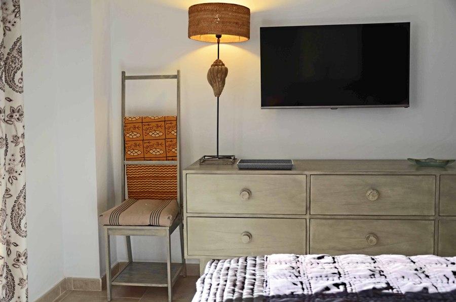 Detalle decoración en dormitorio