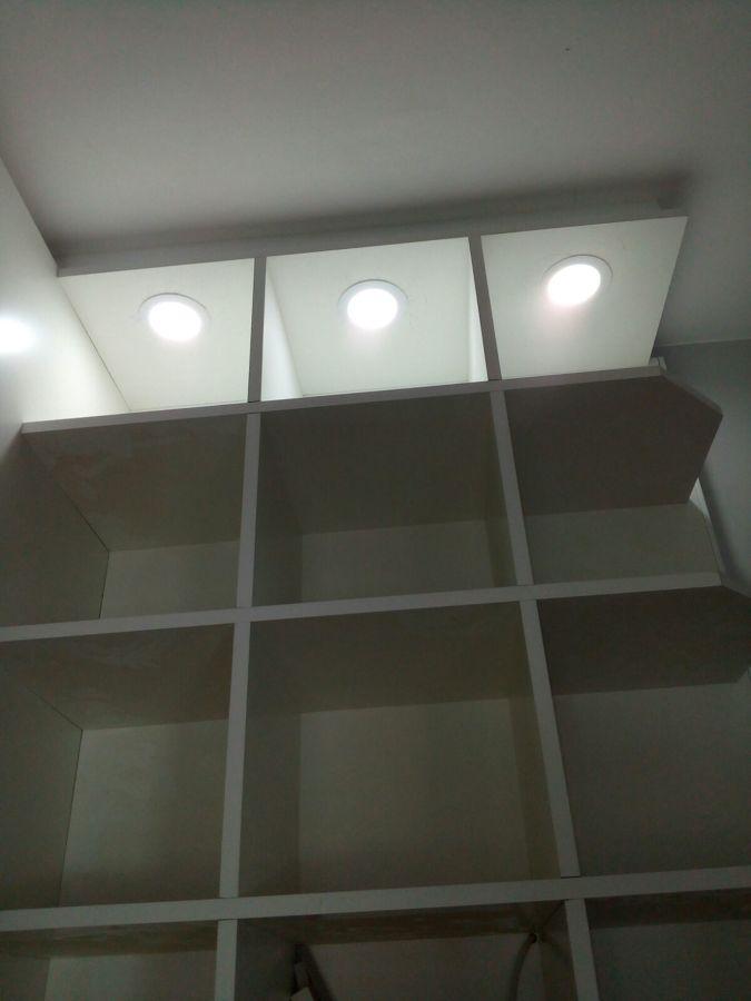 Detalle del armario terminado