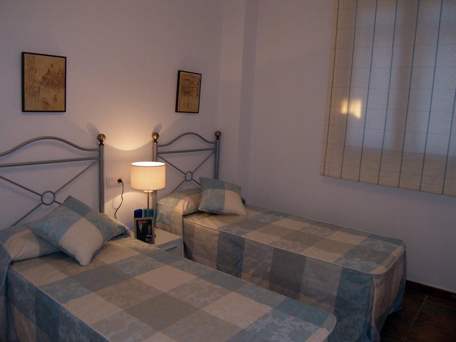 Detalle del dormitorio de invitados