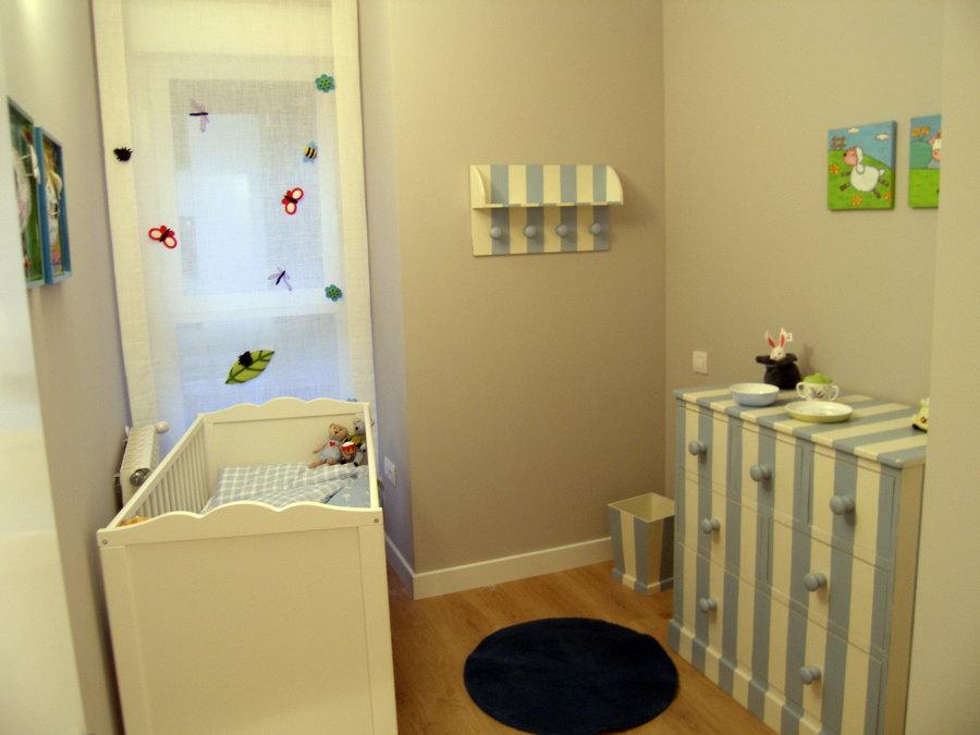 Detalle del dormitorio infantil