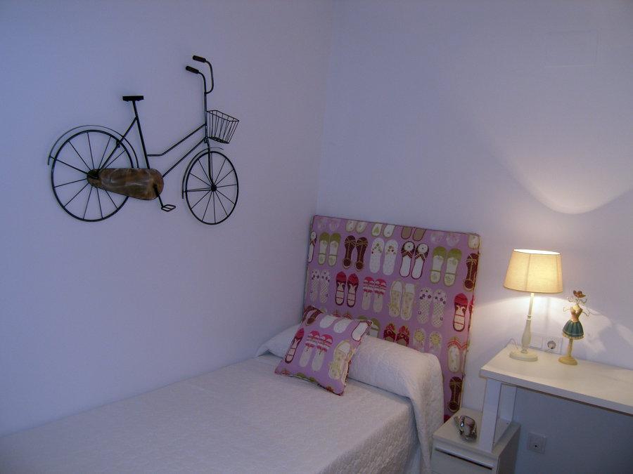 Detalle del dormitorio juvenil