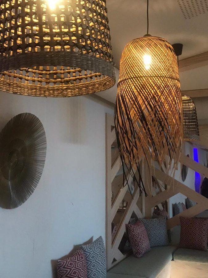 Detalle del interior de Tonteo Marbella