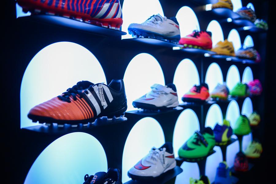 Detalle del panel de calzado