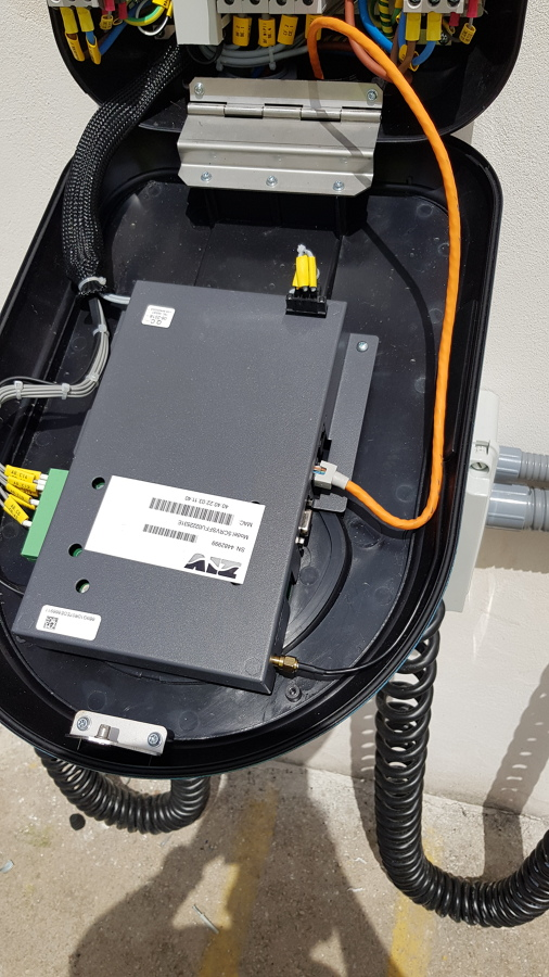 detalle del sistema interno de los cargadores rápidos