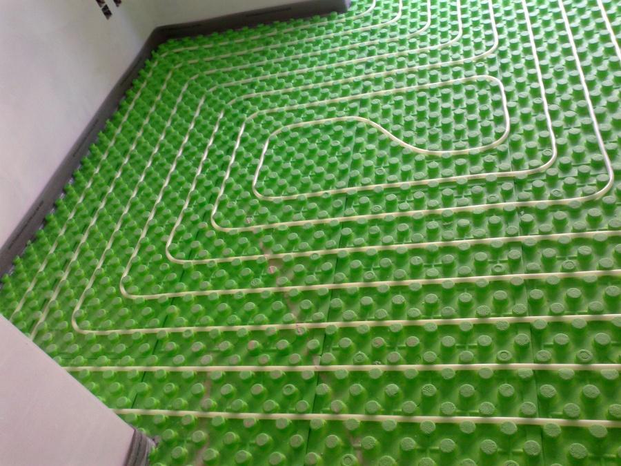 Foto detalle del dibujo de suelo radiante de - Suelo radiante frio ...