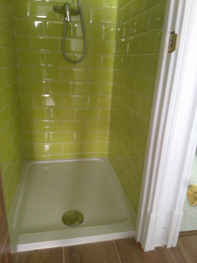 Detalle ducha del baño
