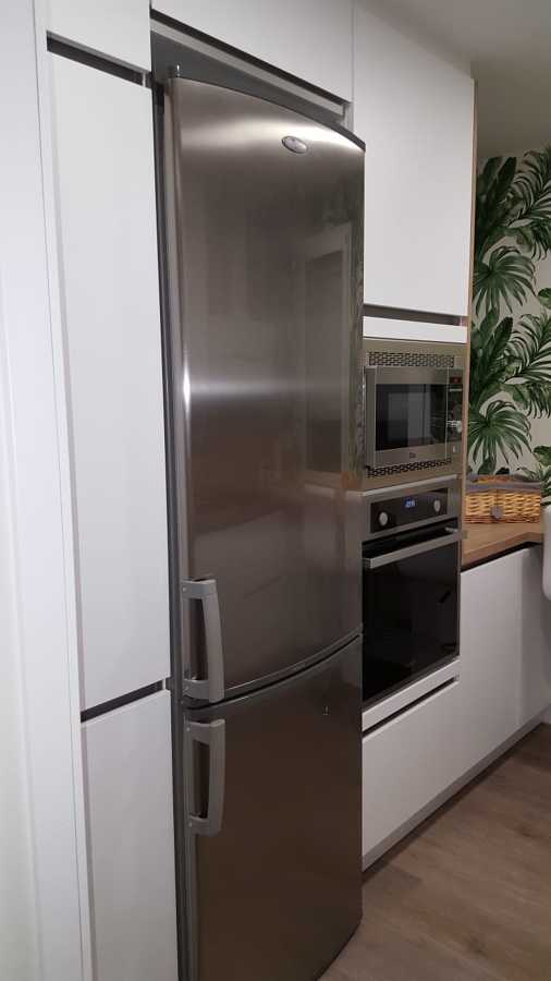 Detalle electrodomésticos cocina