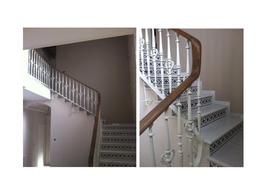 Detalle Escalera-Pasamanos Interior
