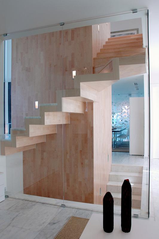 Detalle escalera.