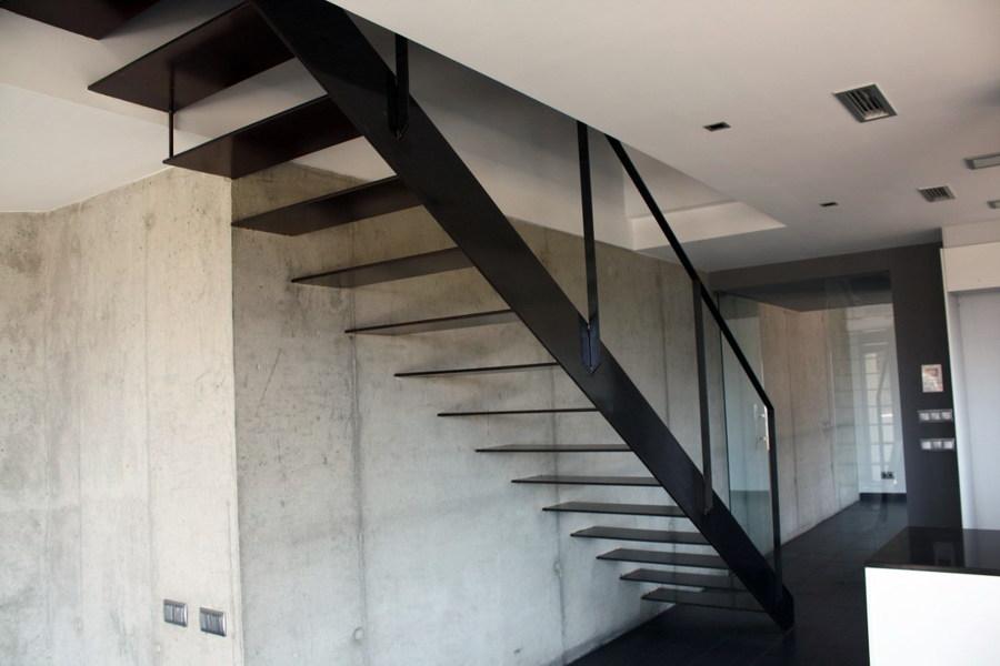 Foto detalle escalera de construproject alt maresme sl - Escaleras de pared ...
