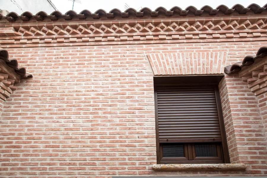 Detalle fachada patio