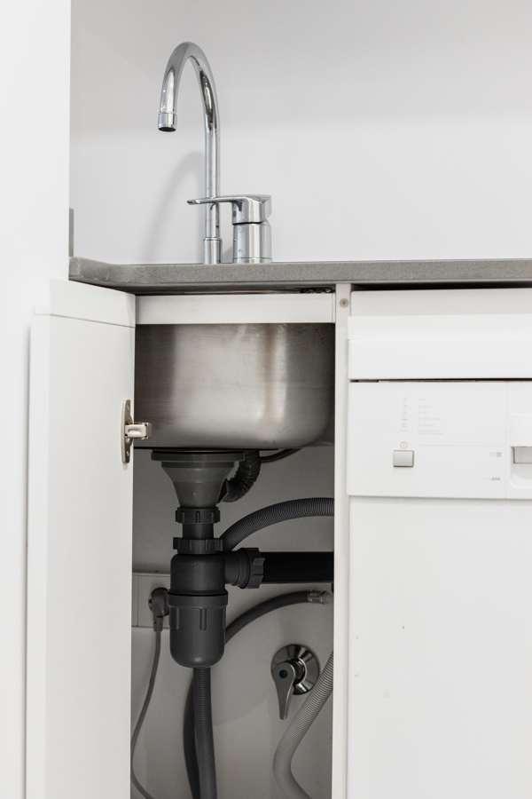 Detalle fontanería cocina
