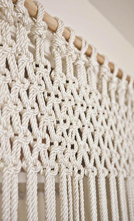 Tejer ya no es cosa de abuelas elabora tu propia cortina - Que cortinas se llevan ...