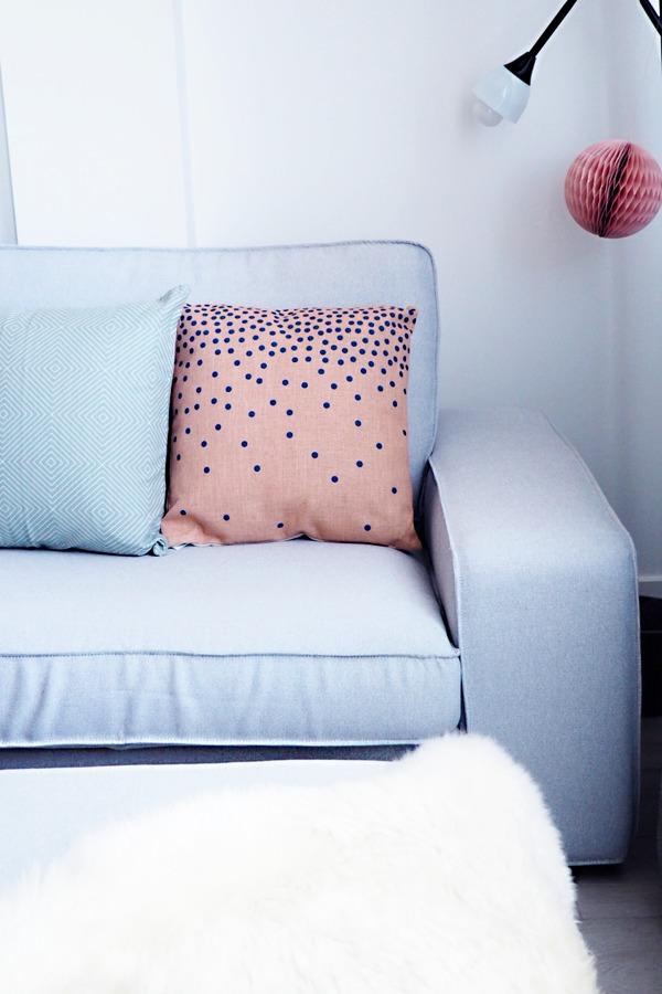 Foto detalle funda kivik en pandora zinc de telas del sur 1399592 habitissimo - Funda sofa kivik ...