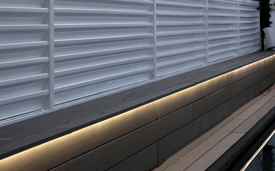 Detalle Iluminación bajo banco