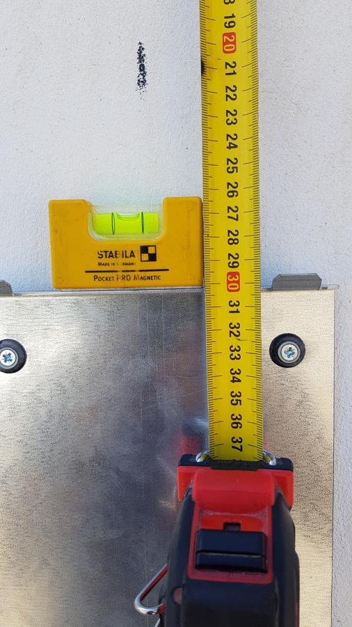 detalle medida y nivelado