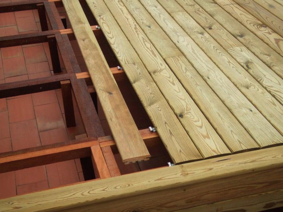 Tarima de exterior autoclave ideas tejados - Tarimas para exterior ...