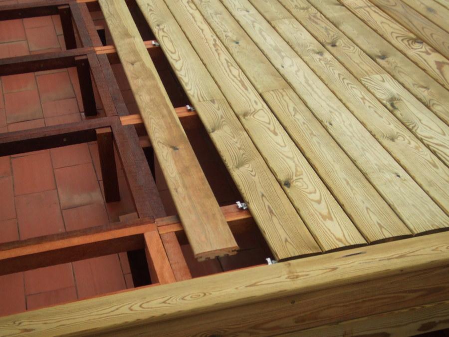 Tarima de exterior autoclave ideas tejados - Tarimas de madera para exterior ...