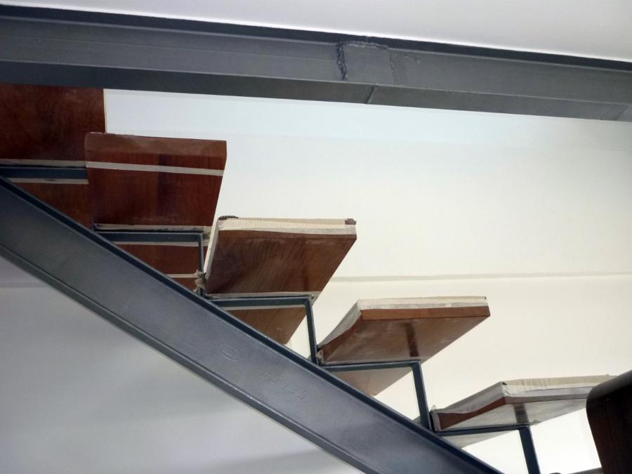 Detalle nueva escalera
