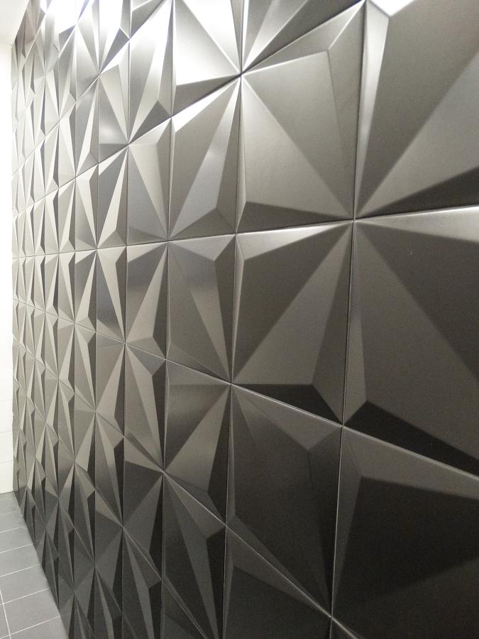 Detalle revestimiento pared
