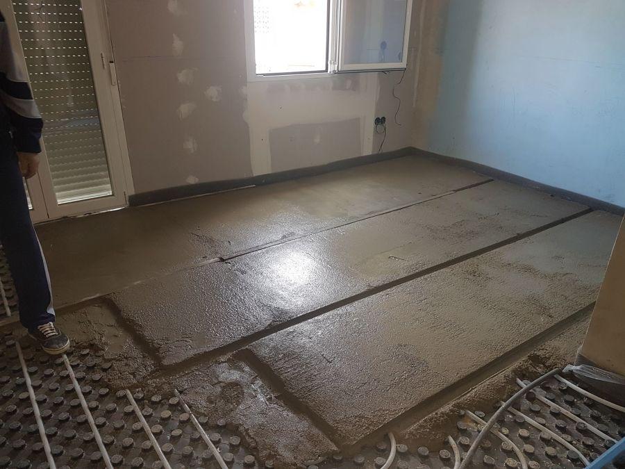 Detalle suelo salon