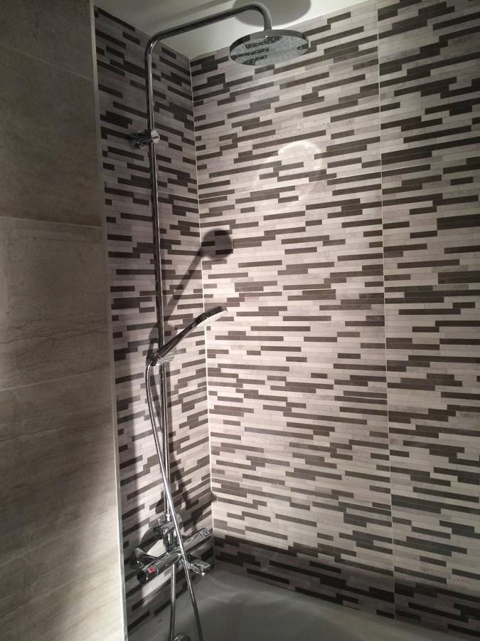 Detalle zona bañera