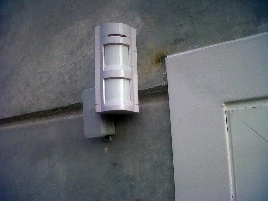 Detector volumétrico exteriores