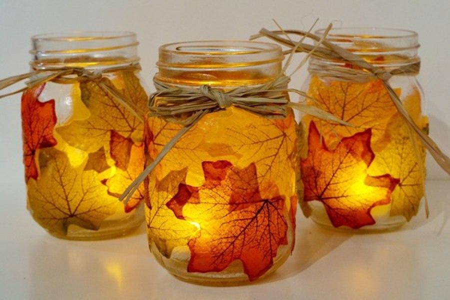 tarrro con hojas