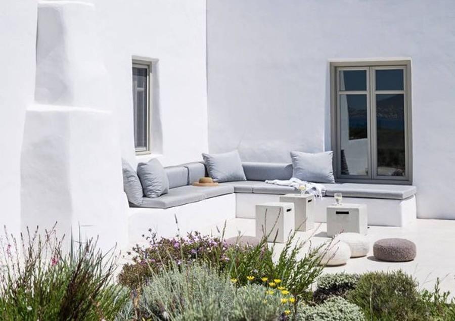 porche estilo mediterraneo