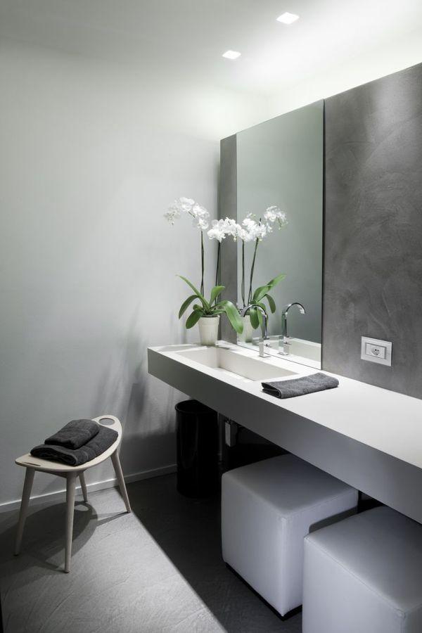 Ba os de cemento una opci n asequible y duradera ideas - Hormigon pulido para interiores ...