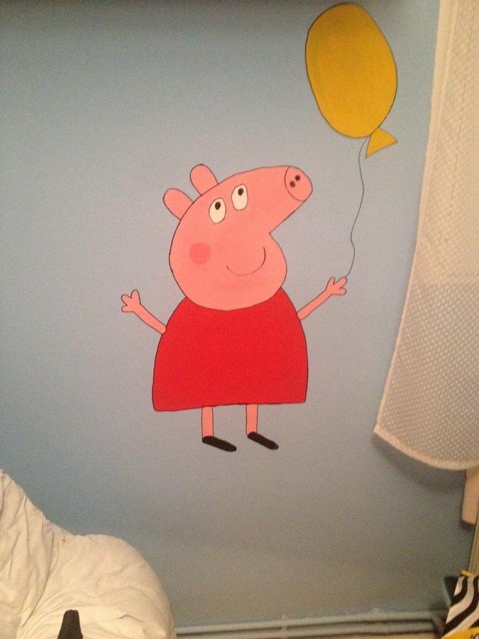 DIBUJO A MANO DE PEPPA PIG