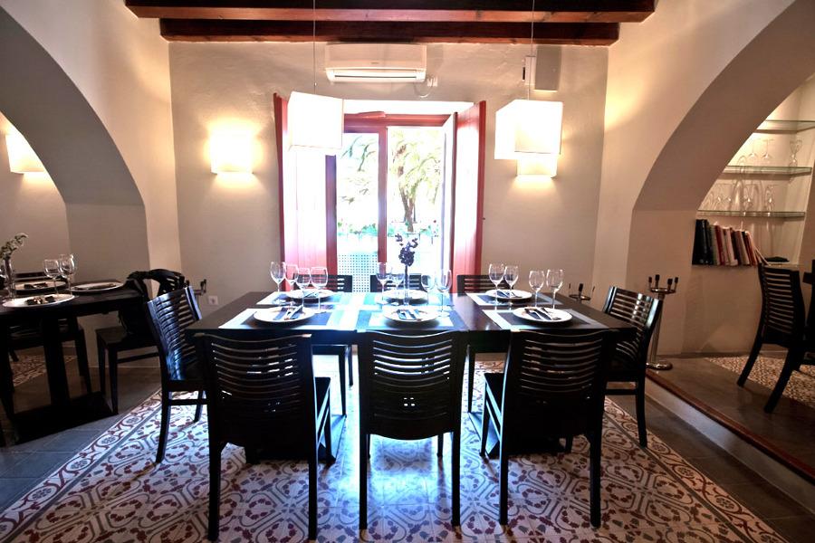 DIF Decor: comedor interior, restaurante Trafalgar