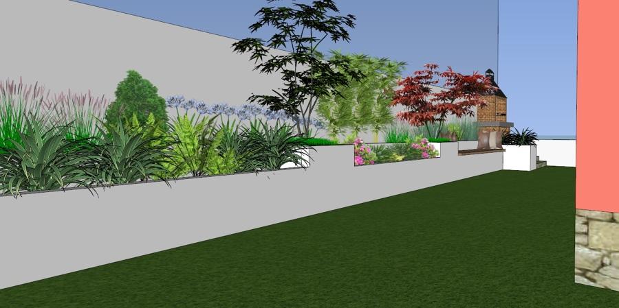 Diseño 3D, jardines