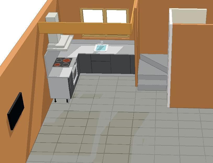 Diseño cocina 3D 1