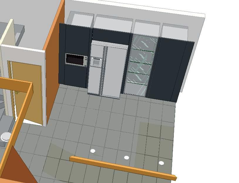 Diseño cocina 3D 2