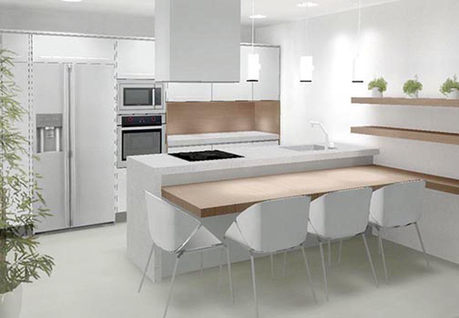 Dise o cocina y vestidor paiporta ideas reformas viviendas for Ideas diseno cocina
