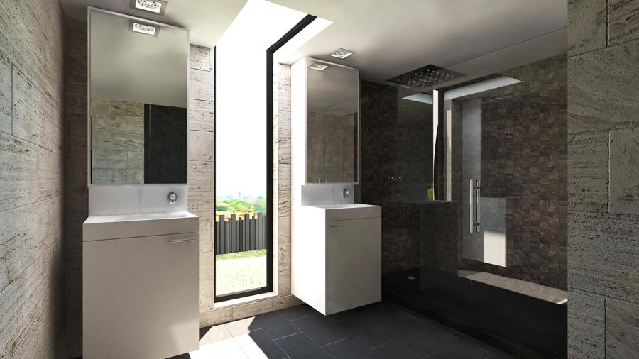 Dise o de vivienda unifamiliar con estilo minimalista for Viviendas estilo minimalista