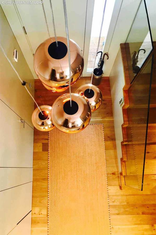 Diseño de interior y decoración en chale