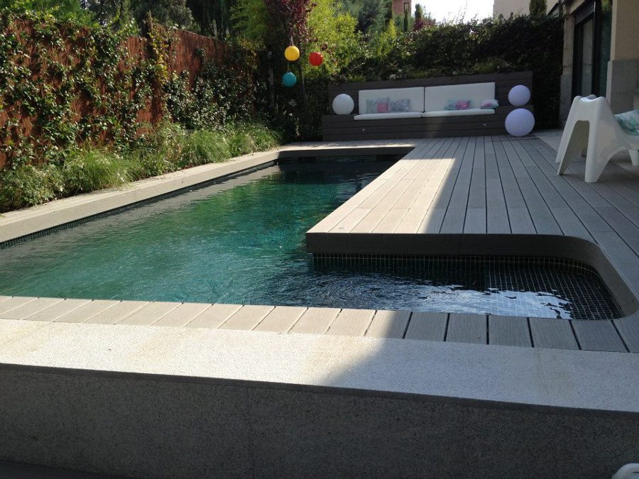 Construcci n de piscina de obra g nitada de 8 x 2 5 for Construccion de piscinas de obra elevadas