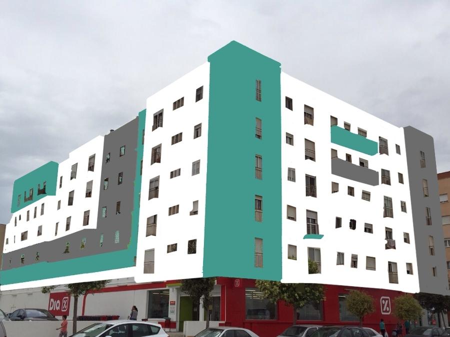 Rehabilitaci n y dise o de fachada ideas construcci n casas for Diseno de construccion de casas