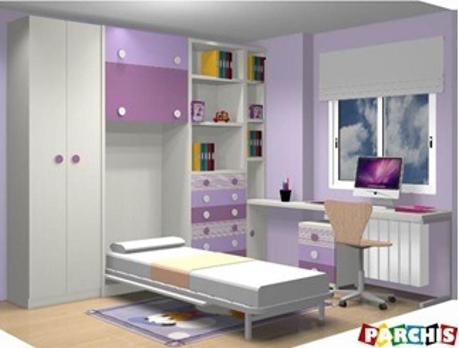 Muebles abatibles camas abatibles verticales ideas muebles - Habitaciones juveniles camas abatibles horizontales ...