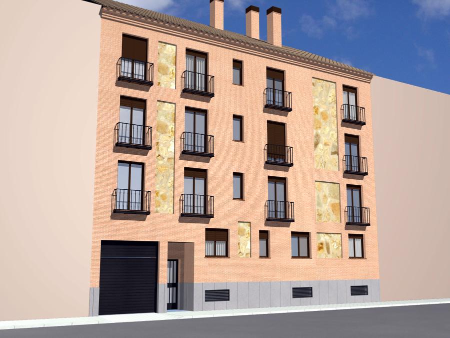 Diseño fachada calle Villasante