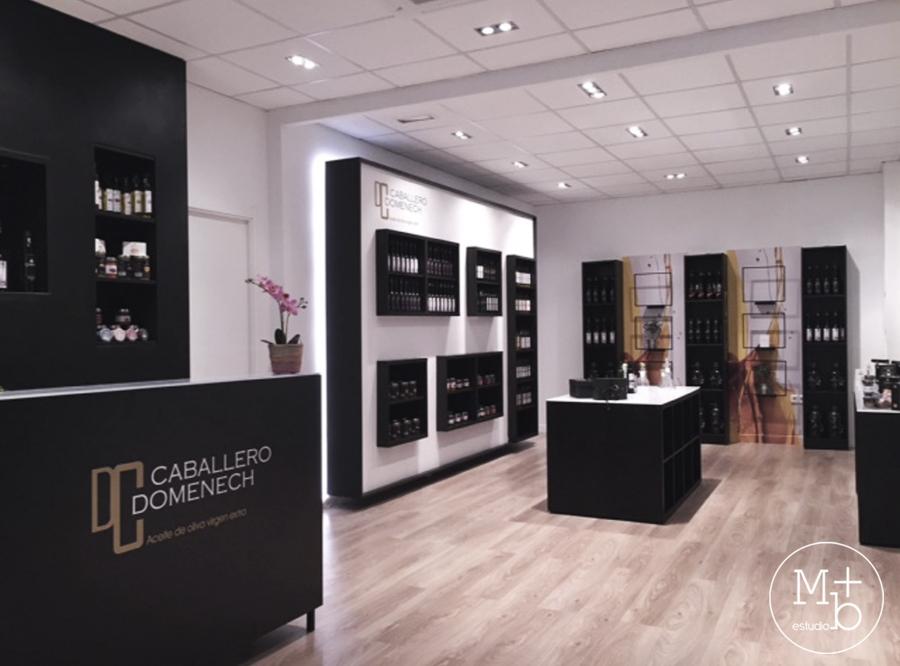 Diseño interior tienda