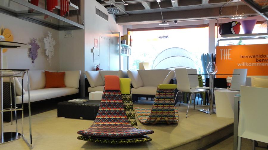 Diseño interior - Tiendas THE 7