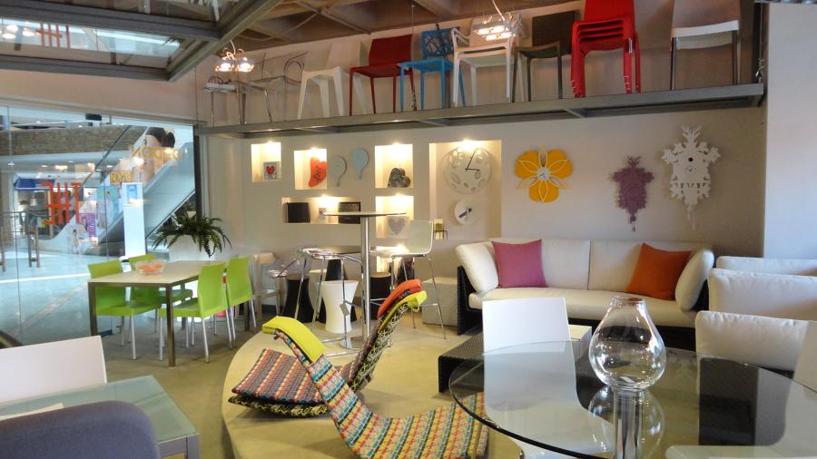 Diseño interior - Tiendas THE 8